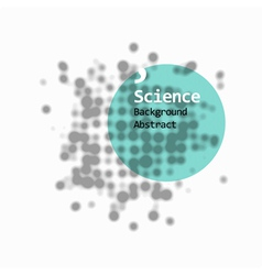 science abstract background vector image