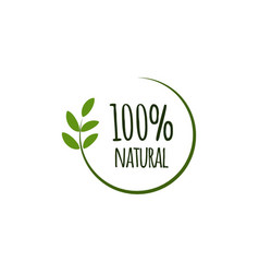 100 natural template design vector
