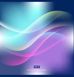 Abstract background gradient with lighting in vector