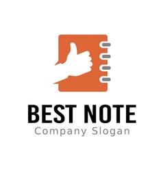 Best Note Design vector