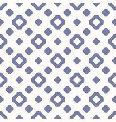 Cute vintage seamless blue serenity pattern vector