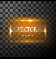 Glass button plane easy editable vector