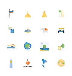 Icon Thailand vector