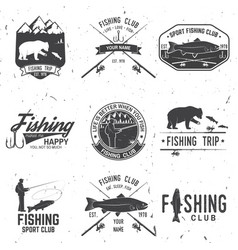 life is better when you fish vector image