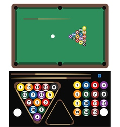 Pool Game vector