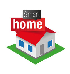 smart home - internet things vector image