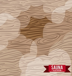 wood design vector image