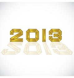 2013 heading vector image