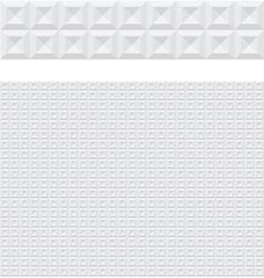 modern geometric 3d background vector image