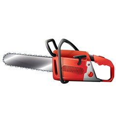 A chainsaw vector image