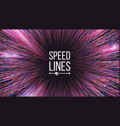 Abstract speed lines motion effect motion vector