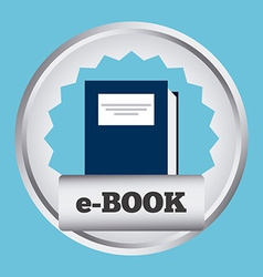 Ebook concept vector