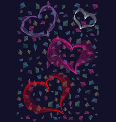 heart icon love and romance symbol vector image