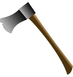 Medieval axe vector