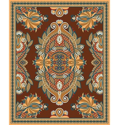 Ornamental Seamless Carpet Design vector