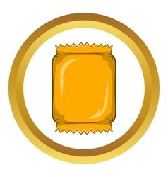 Packaging for chocolate icon vector image vector image