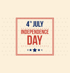 Art of independence day background vector