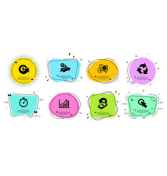 Cashback recycle and dollar exchange icons set vector