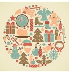 Christmas symbol vector image