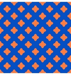 Cross geometric seamless pattern 6410 vector
