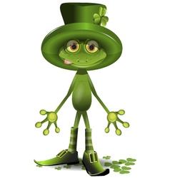 Frog Patrick vector