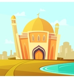 Mosque Building vector