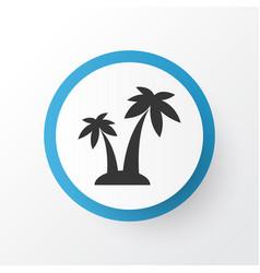 palms icon symbol premium quality isolated trees vector image