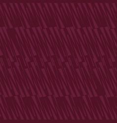 Seamless elongated isosceles triangle maroon vector