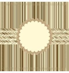 Vintage Card or package design EPS8 vector