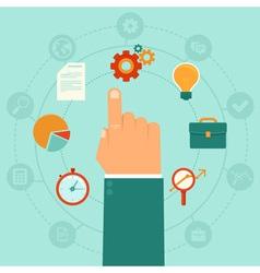Business process vector