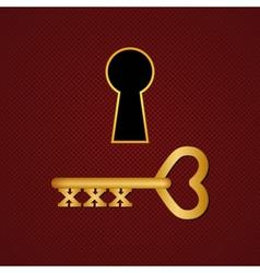 XXX key vector image