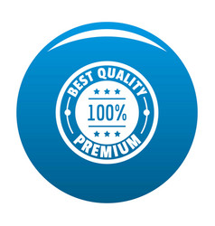 Best offer logo icon blue vector