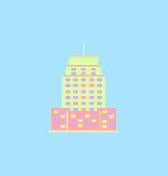 Building skyscraper high-rise buildings vector