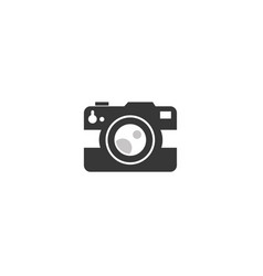 camera photograph an old-style digital log vector image