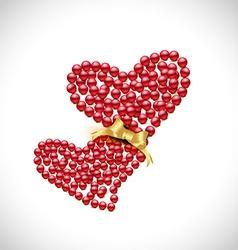Creative heart vector
