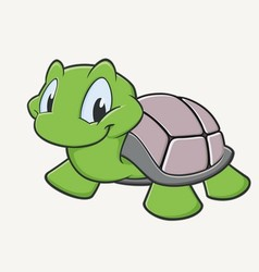 Cute turtle vector