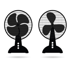 Fan icon ventilation vector