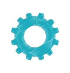 Gear cog wheel vector