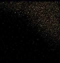 glitter particles background effect vector image