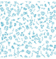 holland set pattern vector image