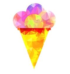 Icon of ice cream vector