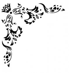 design corner element vector image vector image