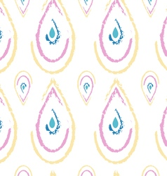 Peacock pattern vector image
