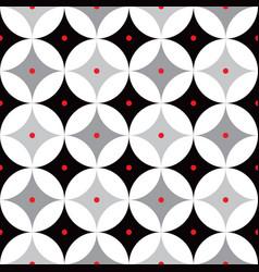 retro atomic 1950s mid century vintage background vector image vector image