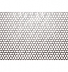 metal grill shadow vector image vector image