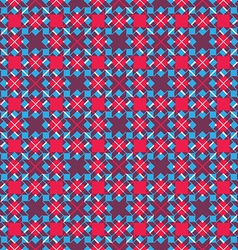 Bright stylized symmetric endless pattern vector image