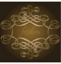 Calligraphy curves vector