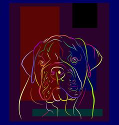 Dog 5 vector