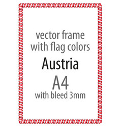 Flag v12 austria vector