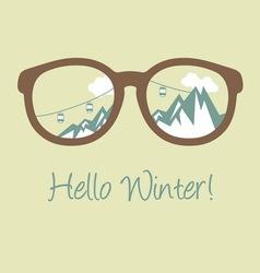 Hello winter2 vector